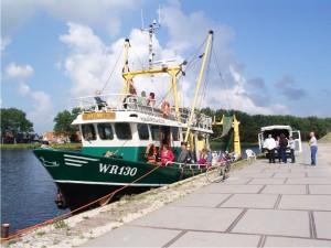 Het schip bij Kooypunt