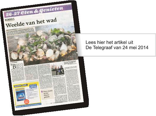 Culinair genieten volgens De Telegraaf